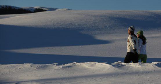 Sciare a Obereggen