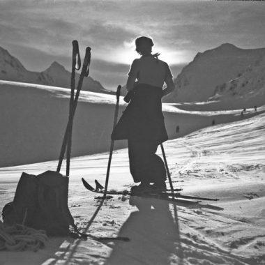 Tradition Skifahren in Südtirol