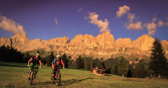 Mountainbike Urlaub in Südtirol Carezza Dolomites